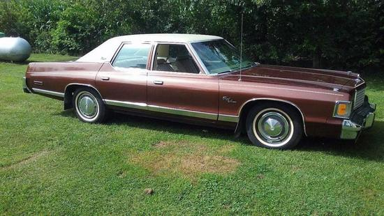1977 Dodge Royal Monaco Brougham, 24,500 Actual Miles!