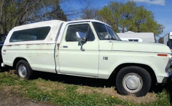 1973 Ford F-100 2WD