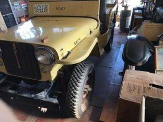 1947 WILLYS-OVERLAND CJ2A