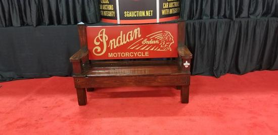 Indian Motorcycle Bench