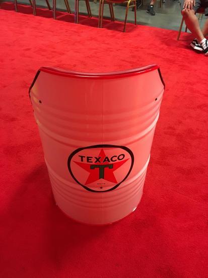 Texaco 55 gallon Chair
