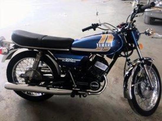 1975 Yamaha RD 200