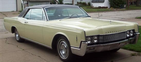 1966 Lincoln Continental 2 Door Hardtop