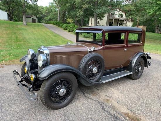 1929 Nash Advanced Six Four Hundred Series Model 463 2 Door Sedan