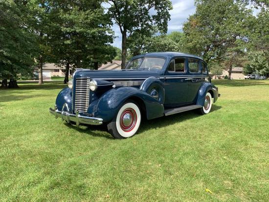1938 Buick Century Touring Sedan, Selling No Reserve!