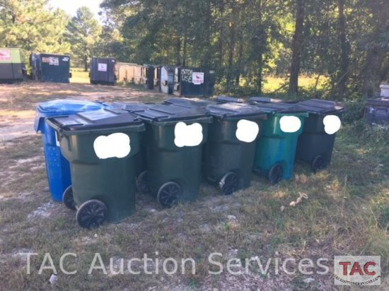 95 Gallon Residential Trash Cans