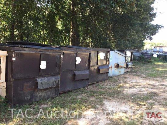 6 Yard Front Load Dumpster