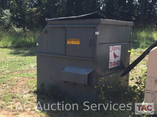 8 Yard Front Load Dumpster