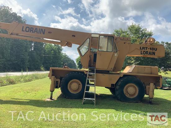 Lorain LRT 18U Crane