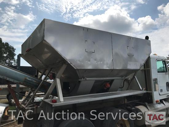 Stainless Steel Grain body with Hopper