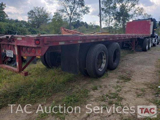 1991 Strick 48 Foot Flatbed Trailer