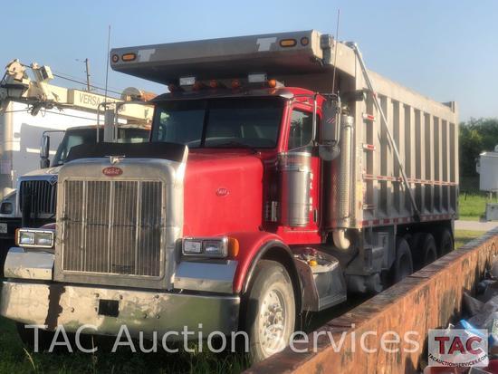 2007 Peterbilt 357 Tri-Axle Dump Truck