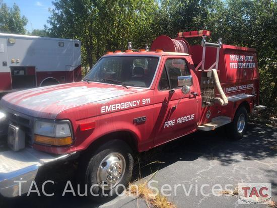 1992 Ford 350 Fire Truck