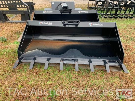 72 Inch Bradco Tooth Bucket