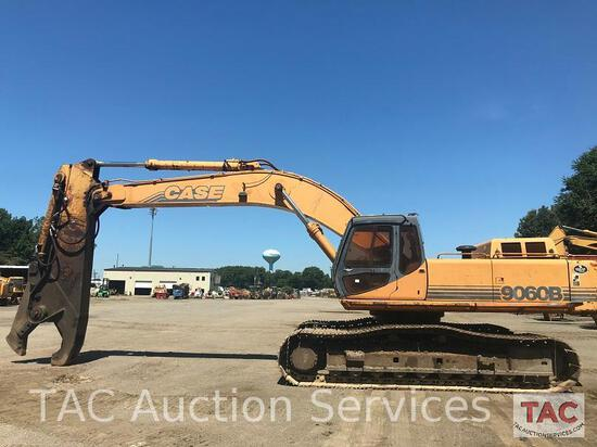 1995 Case 9060B Excavator With Labounty Metal Shear