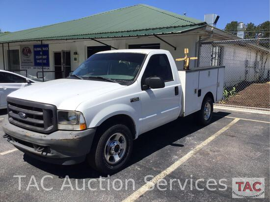 2004 Ford F250 Service Truck