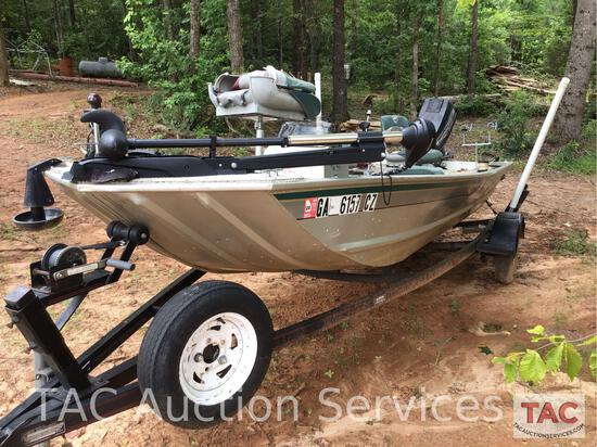 16ft Fisher Bass Boat
