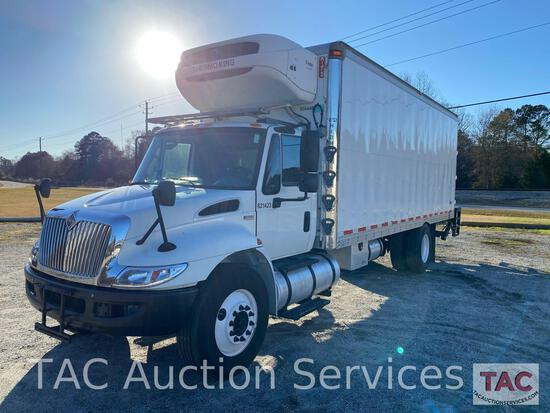 2013 International Durastar 4300 Reefer Box Truck