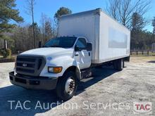 2015 Ford F-750 Box Truck