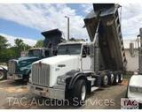 2005 Kenworth T800 Quad Axle Dump Truck