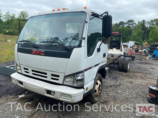 2007 GMC W4500 Cab and Chassis