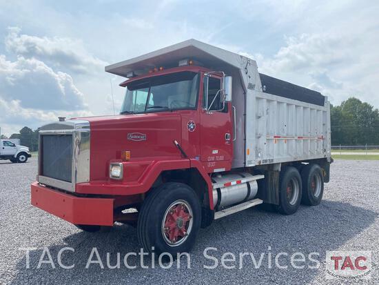 1988 Autocar Dump Truck