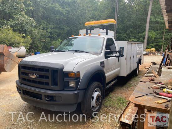 2009 Ford F-550 Service Truck