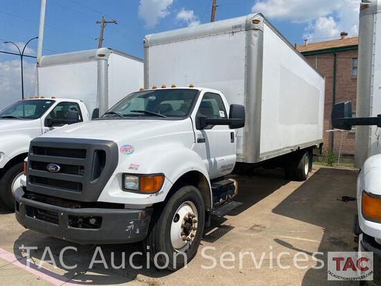 2013 Ford F-750 Box Truck