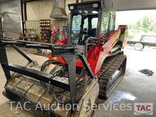 Takeuchi TL12 Skid Steer with Mulching Attachment