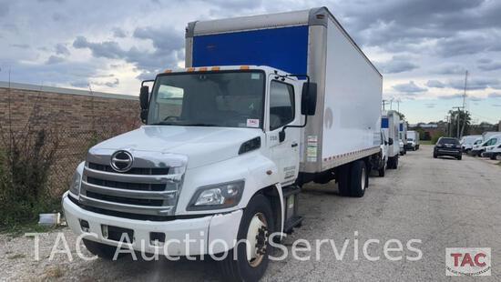 2016 Hino 268 Box Truck