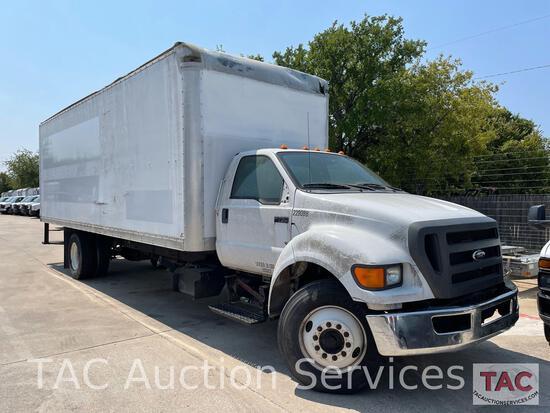 2012 Ford F-750 XL Box Truck