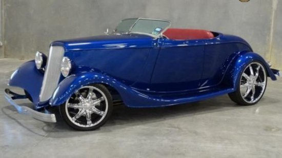 1933 ASV Ford Outlaw Hot Rod