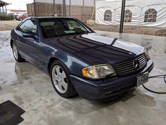 2000 Mercedes-Benz 500 SL