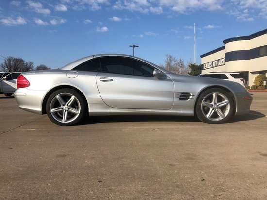 2004 Mercedes-Benz 500SL Retractable Hardtop