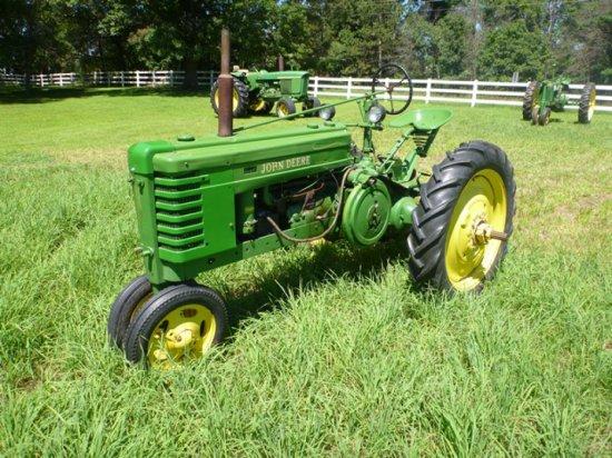 John Deere H Tractor