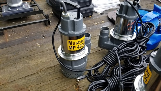 Mustang MP4800 Submersible Pump