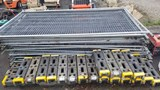 Lot - Temp. Fencing & Stands