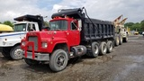 1979 Mack Rd686s Triaxle Dump Truck