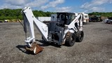 Bobcat 873 Skidsteer With Excavator Attachment