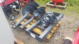 Hydraulic Auger with Bits