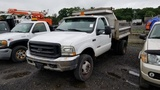 2003 Ford F450 6 Wheel Dump Truck