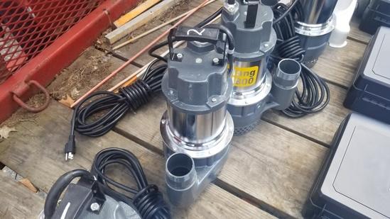 Mustang mp4800 pump