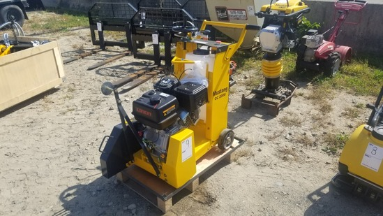 Mustang CC 2000 Concrete Saw