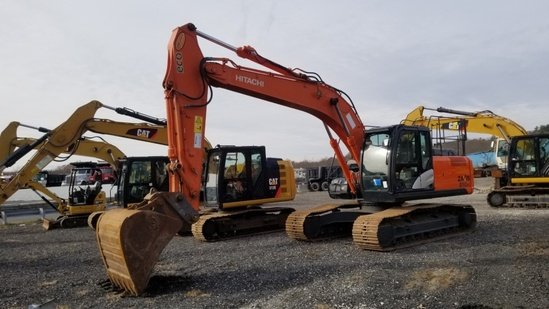 2016 Hitachi Zaxis 210lc-5b Excavator