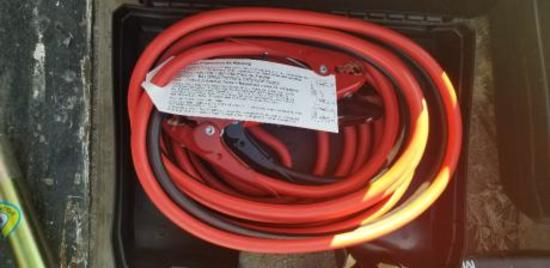 25 Ft HD Booster Cables