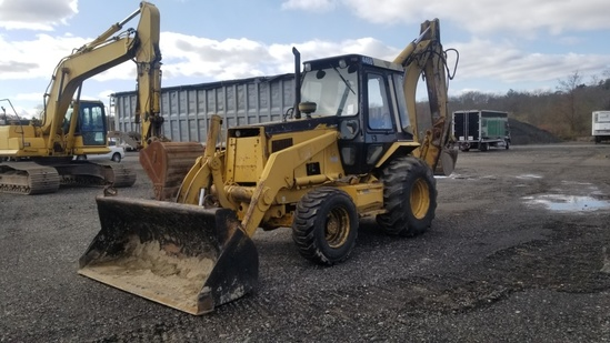 Cat 446b Backhoe
