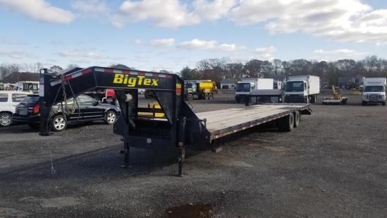2018 Big Tex 22gn Hd Gooseneck Trailer