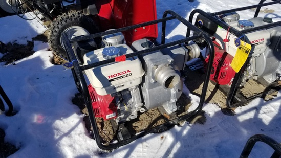 Honda wr30x trash pump