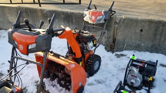 Husqvarna st227p snowblower