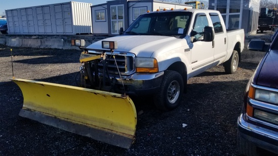 2000 Ford F350 With Plow